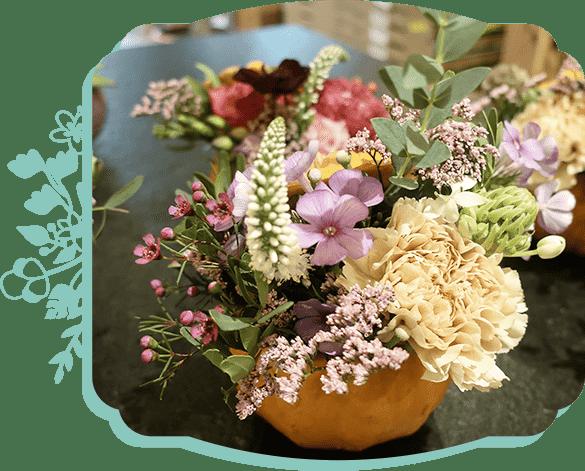 Illustration florale Les Pensées d'Augustine